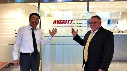 Averitt International Distribution Office in Taipei China