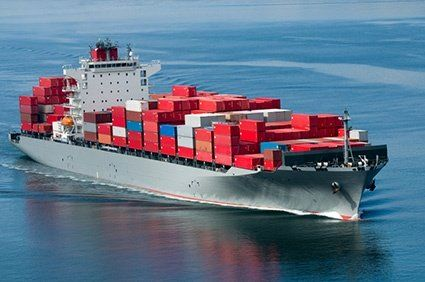 Ocean and air import and export services