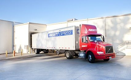 retail distribution center delivery